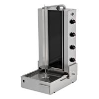 Robax Glass Electrical - Gas Shawarma Machines (Motor at bottom)